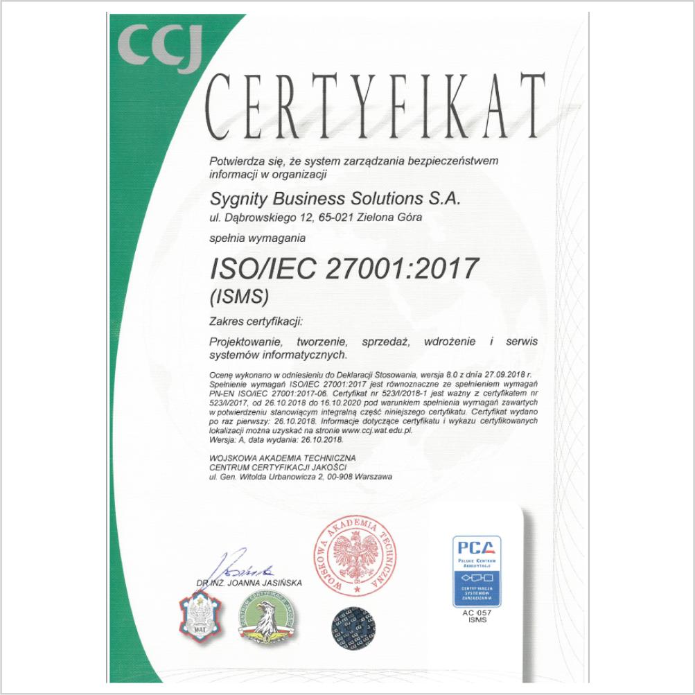 nowoczesne orogramowanie, certyfikat ISO