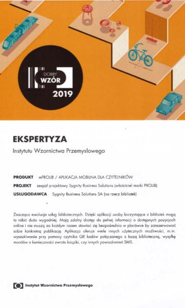 dobry wzór 2019 finalista